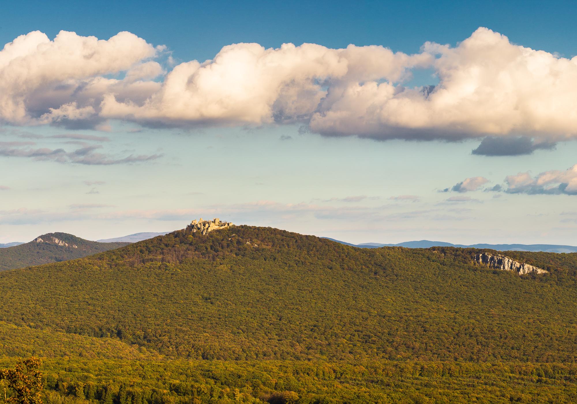 pohľad na Gýmeš z Končitého vrchu