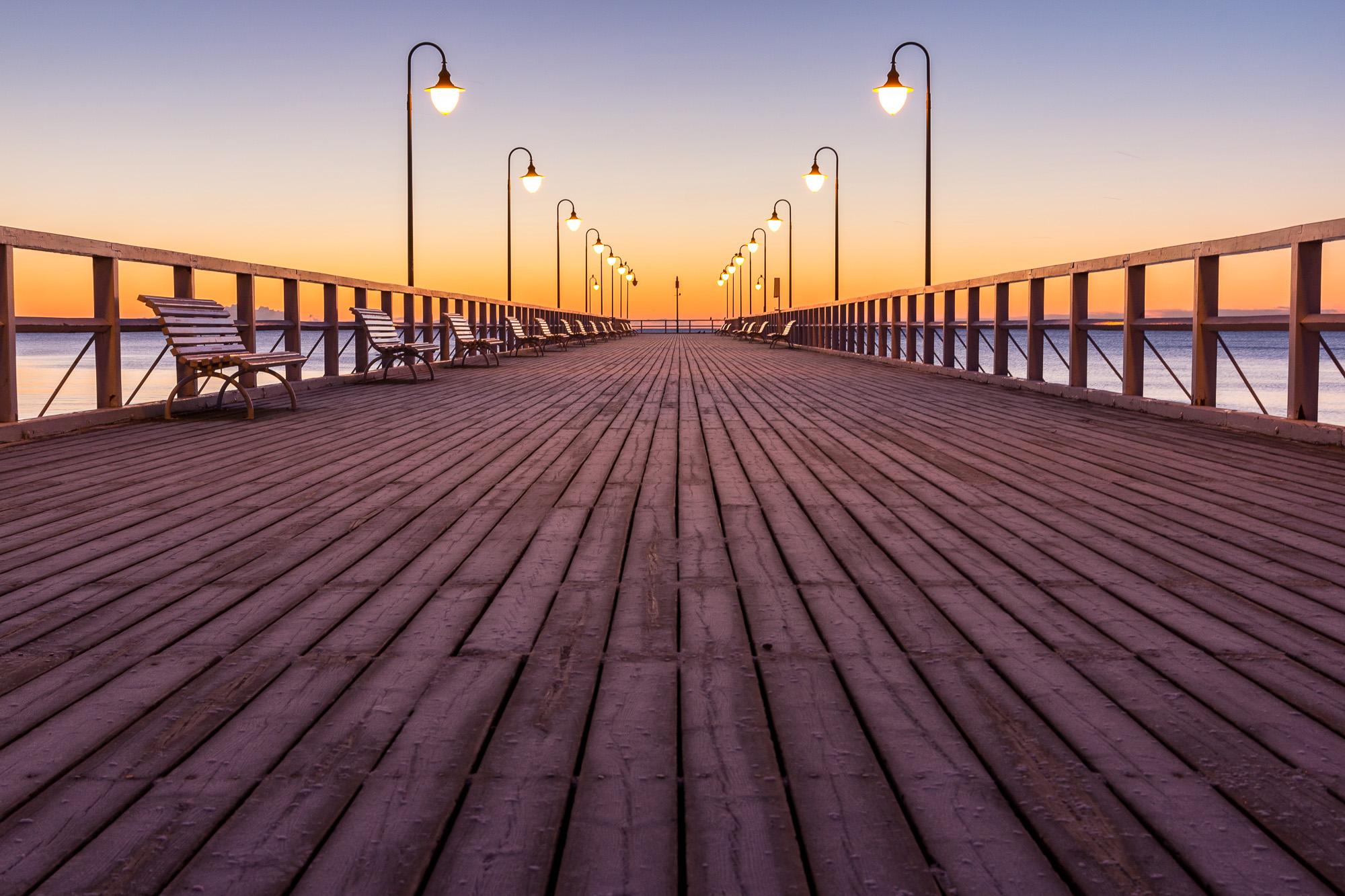 Molo w orlowie, Gdyna, Polsko